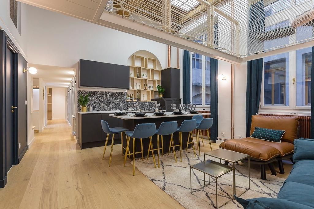 Photo n° 2 de l'annonce Appartement T3 à vendre - LYON 2EME ARRONDISSEMENT : Ref 4603281